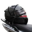 Motorcycle E-bike Black Luggage Helmet Net Buckle Holder Rope Strap Accessory