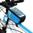 Outdoor Bicycle Bag Frame Front Head Top Tube 1.5L Waterproof & Touchscreen bike bag  Handlebar Cycling Bags