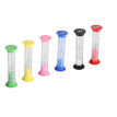 Greensen 6pcs/ Set Sand Glass Timer Hourglass for Cooking Baking Game Exercise Decoration,Sand Glass, Baking Sand Glass
