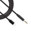 1 Meter for Lightning to 3.5mm Audio Cable Male AUX Stereo Wire Adapter Cord for iPhone 7 7 Plus 8 8 Plus X to Car Stereo Speakers