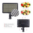 Portable Video Studio Photography Light Lamp Panel 176 LEDs 5600K for Cannon Nikon Pentax Olympus Camcorder DSLR Camera