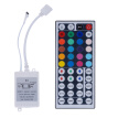 〖Follure〗5M 5050 SMD RGB 300LEDs LED Light Strip 44 Key IR Remote Controller DC12V