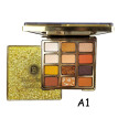 12 Color Mica Film Pearlescent Eye Shadow Disk Waterproof And Sweat Lasting Non-fading Eye Cosmetics Palette
