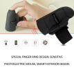 Wireless Mouse Optical Handheld Finger Ring Mouse Mini Save Power Mice for Portable Laptop PC 1600DPI