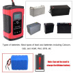 12V 6A  Full Automatic Car Battery Charger Intelligent Fast Power Charging Pulse Repair Charger Wet Dry Lead Acid Battery-chargers