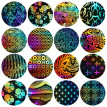 〖Follure〗16PCS Design Nail Art Foil Stickers Transfer Decal Tips 4*20CM Manicure Decor