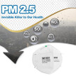 3M 9501 Particulate Respirator KN95 Masks Aganist PM2.5 Smog Dust 50 Pcs