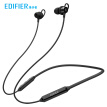Edifier (EDIFIER) W200BT neck-mounted version magnetic inhalation ear type wireless sports Bluetooth wire-controlled headset mobile phone headset music headset with microphone black