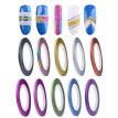 〖Follure〗10 Colors Rolls 2mm Striping Tape Line Rough Styles Nail Art Tips Decals