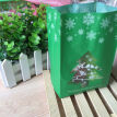 50pcs Christmas Tree Biscuit Bags Red Green with Window Year Gift Packaging Decor Favors Candy Bag Xmas Decorations