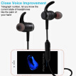 2019NEW Wireless Bluetooth Sports Headphones Metal Magnetic Stereo Waterproof In-Ear Earbuds