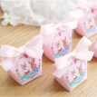 FUNNYBUNNY Candy Box Paper Gift Boxes Ribbon Wedding Party Favors Bags Decoration