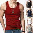 Gym Men Muscle Sleeveless Tank Top Tee Shirt Bodybuilding Sport Fitness Vest