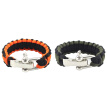 Outdoor Multi Tool Adjustable 7 Strands Braided Paracord Bracelet Wrist Strap Wristband Camping Adventure Accessories