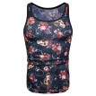 (Toponeto) Men's Summer Casual Slim Printed Sleeveless Tank Top T Shirt Top Blouse