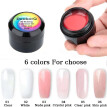 8ML UV Building Extension Gel Crystal Jelly Gel Nail Extension Nail Art Builder