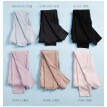 Autumn/winter 2018 new moral cashmere hair warm leggings women's raised warm pants high-waist-free trousers