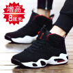 2019 new style black tide shoes, summer breathable Korean style sports casual shoes, and high-rise men's shoes in the trend of bal