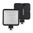 Andoer LED 64 USB Continuous On Camera LED Panel Light Portable Mini Dimmable Camcorder Video Lighting for Canon Nikon Sony A7 Pan