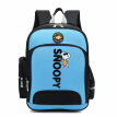 Snoopy schoolbag primary school student male 1-3-4-6 grade backpack 6-12 years old student bag 1224 ultra light waterproof lightweight wear-resistant decompression child spine schoolbag female 8110 blue