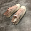 Shoes 2019 summer trendy shoes 100 Korean version of student shoes ins canvas shoes