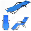 Outdoor Folding Lounge Chaise Portable Beach Recliner Patio Chair