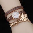 New trend fashion ladies belt watch Three-ring winding angel doll quartz watch female factory direct