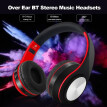 Wireless Bluetooth Headphones Foldable Over Ear Stereo Music Headsets TF Card MP3 Player FM Radio 3.5mm Wired Earphone Hands-free