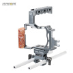 SEVENOAK SK-A7C1 Professional Video DSLR Camera Cage Kit with Top Handle Grip Shoe Mount 15mm Rods for Sony A7/ A7S/ A7R/ A7 II/ A
