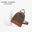 Pirre cardin (pierre cardin) backpack women print waterproof travel backpack fashion youth schoolbag female J0U218-030401L brown