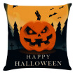 45x45cm Soft Room Pillowcase Halloween Horror Pattern Pillow Case Fashion Linen Throw Pillow Car Home Decorative Pillowcase