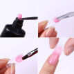 New 2018 1pc Professional Nai art Pen Double Heads Nail Brush Handle Nail Art Manicure Tools High Quality