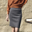 Fashion  High Waist Sim Skirts Women Autumn Knitted Skirt Sexy Ladies Bag Hip Skirts