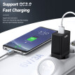 TOPK Quick Charge 3.0 USB Charger for Samsung S10 S9 Xiaomi Mi 9 Redmi Note 7 Fast QC 3.0 EU Travel Wall Mobile Phone Charger