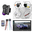 7 Inch 2Din Bluetooth Car Stereo MP5 MP3 Player FM Radio with Remote Control Mirror Link Camera