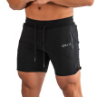 Fitness Shorts Men Casual Style Drawstring Polyester Short Pants Sports Trousers For Fitness