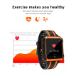 H7 4G Smart Watch Android Watch Phone 1.54inch Square Screen RAM 1G+ROM 8G WiFi GPS SIM Smartwatch Heart Rate Sleep monitoring Fit
