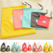 Hot 4 pcs / lot Waterproof Travel Storage Bags Travel Shoe Makeup Organizer Laundry Bag Underwear Cosmetics XS S M L