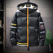 Men's New Winter Style Fashionable Light Down Cotton Solid Color Warm Coat