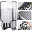 Clear PVC Luggage Protector Waterproof DustProof  Suitcase Cover Protectors Scratchproof Trolley Case Cover  Fits for Business T