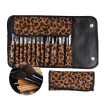Nomeni 12 PCS Pro Makeup Brush Set Cosmetic Tool Leopard Bag Beauty Brushes