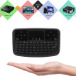A36 Mini Wireless Keyboard 2.4GHz Air Mouse Rechargeable Touchpad Keyboard For Android TV Box Smart TV PC PS3
