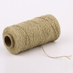 1.5mm Natural Hemp Rope Burlap Cord Linen String For DIY Crafts Banner Hanging Gift Wrapping Gardening Applications