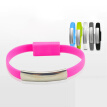 W_New Arrival Bracelet Wrist Band USB Charging Charger Data Sync Cable Cord For Cell Phone