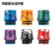 six-day 810 Drip Tip, 6 in 1 Standard Resin Drip Tip, Mouthpieces for Electronic Cigarette Vape Tank, Nicotine Free