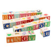 Wooden Learning Puzzle Letters Teaching Educational Building Blocks Kids Toys