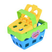 Prentend Play Delicious  Basket Toy Puzzle Building Blocks Kit For Kids