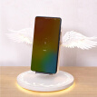 Qi Wireless Charge Dock 10W Angel Wings 3.0 Fast Charger Type C For iPhone X XR 8 Plus Smasung S9 S10 Plus For Huawei P30 Xiaomi