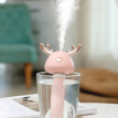 USB Cute Antler Design Portable USB Cool Mist Humidifier Air Diffusers For Travel Home Office Hotel Car Without Water Bottle