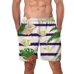 Gobestart Fashion Men's Big Size Beach Fit 3D Sport Quick Dry Casual Shorts Pants Swimwear